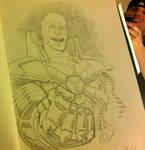 BCC 2010 Lex Luthor sketch