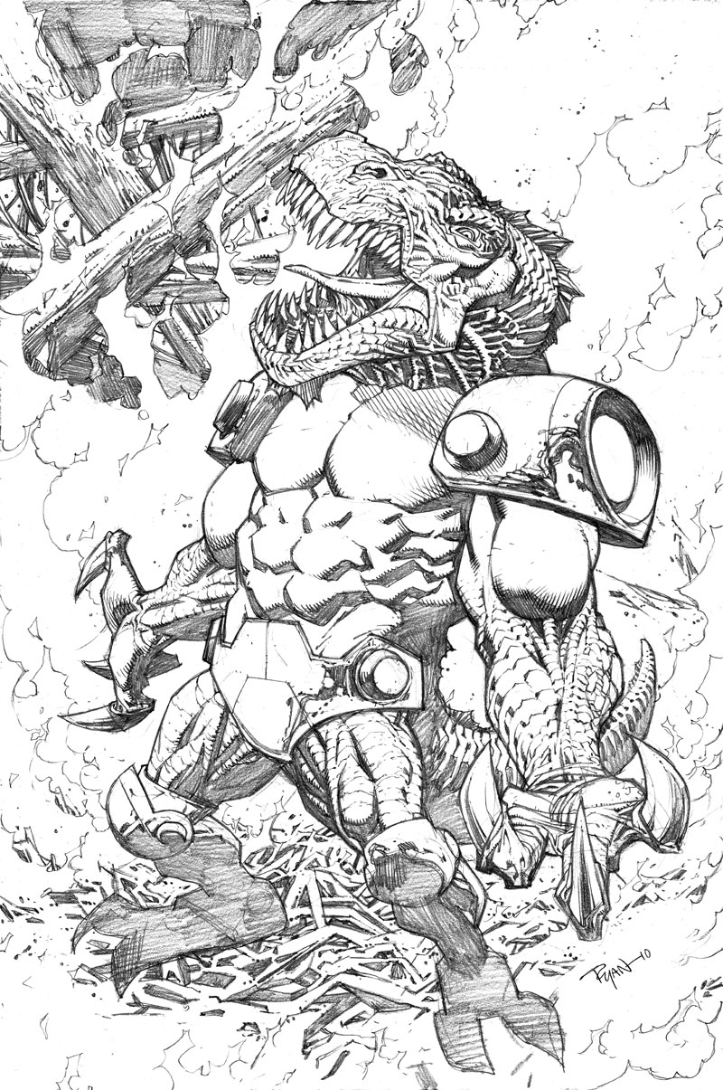 Invincible 80 cover by RyanOttley