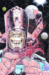 What if Galactus was a CHIMP? by RyanOttley