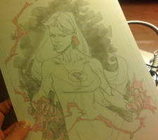 Atom Eve AAcomicon sketch by RyanOttley