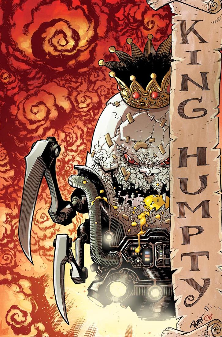 KING HUMPTY by RyanOttley