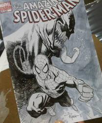 Spiderman Venom commission by RyanOttley