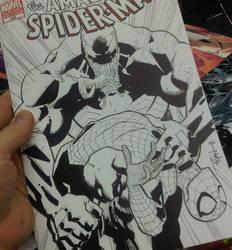 Venom breaks poor Spidey by RyanOttley