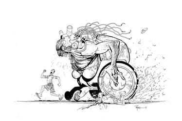 Wheelchair hottie by RyanOttley