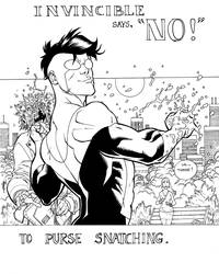 Invincible says NO. by RyanOttley