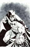 Batman commission at C3
