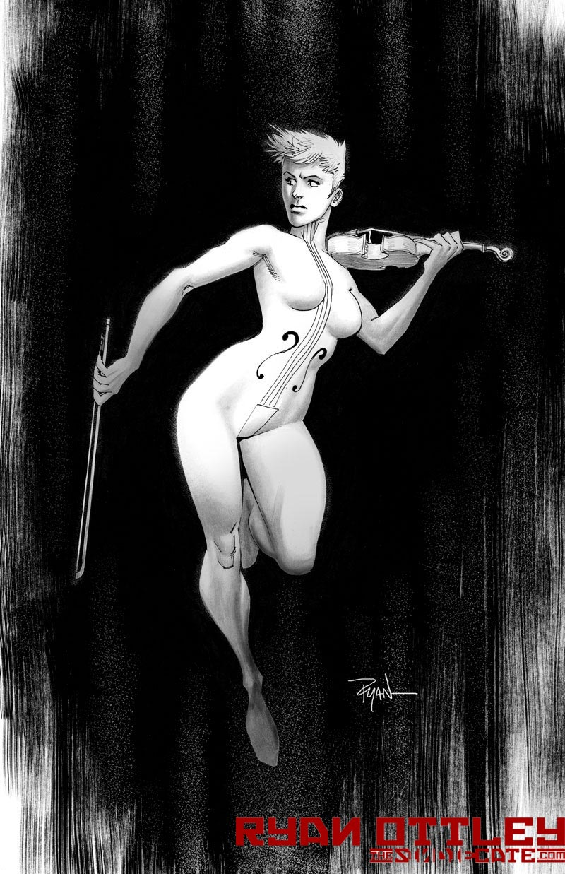 Umbrella Academy's White Violin by RyanOttley