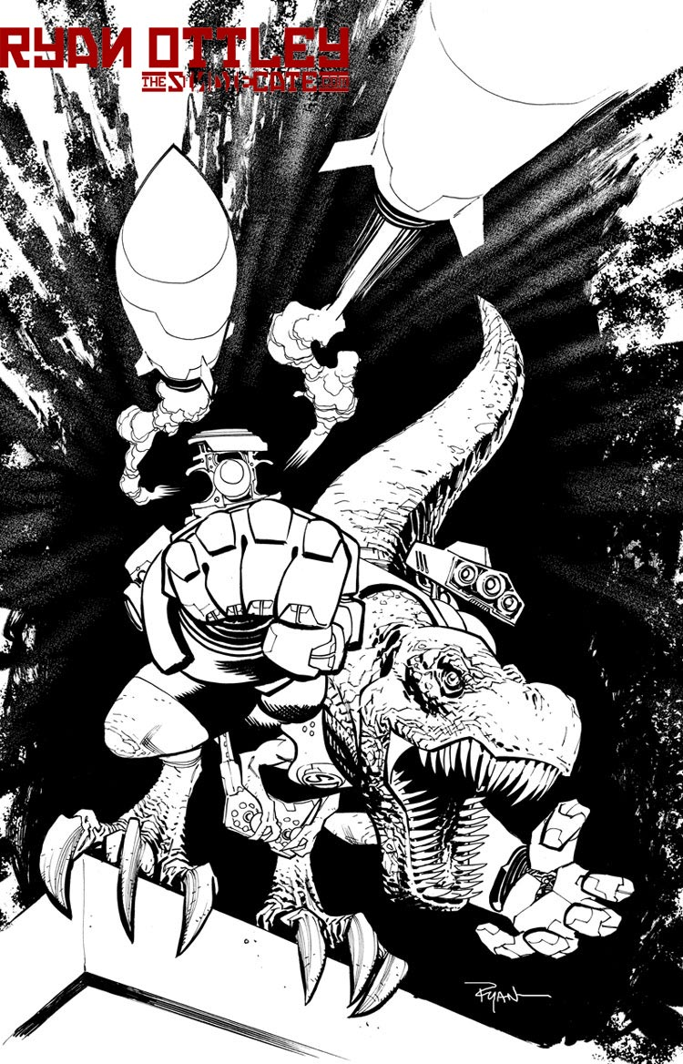 A DINOSAUR who happens to be super by RyanOttley