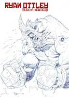 Rhino fighter by RyanOttley