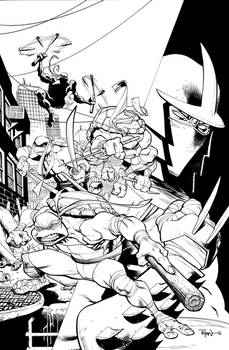 Hi-re TMNT cover for you to COLORRRRRRRRRRRRR
