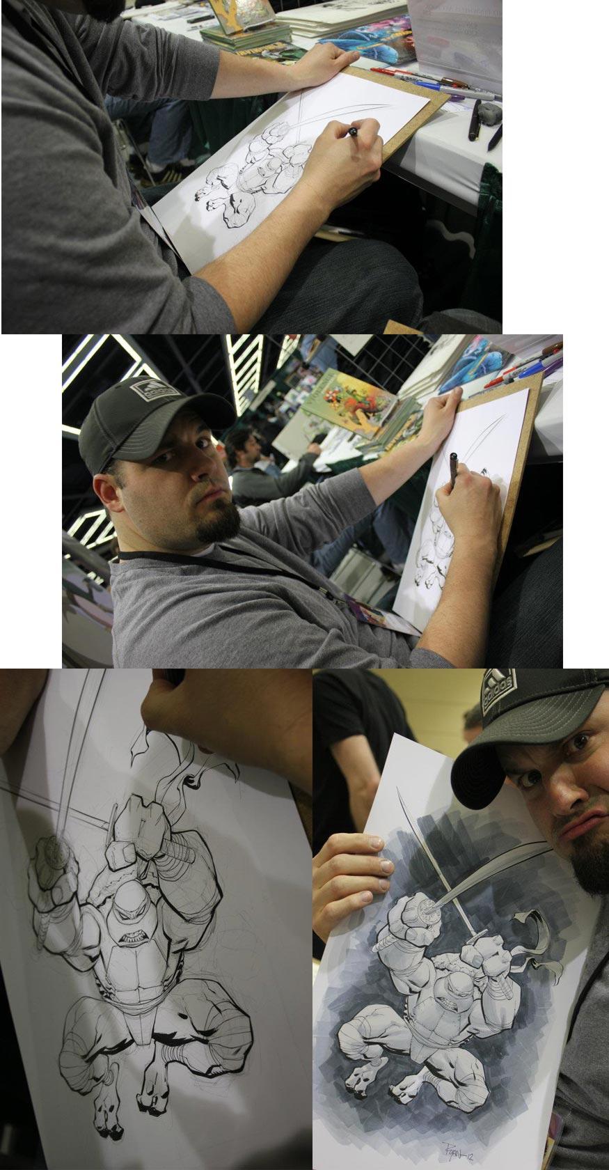 Leonardo commission ECCC pics by RyanOttley