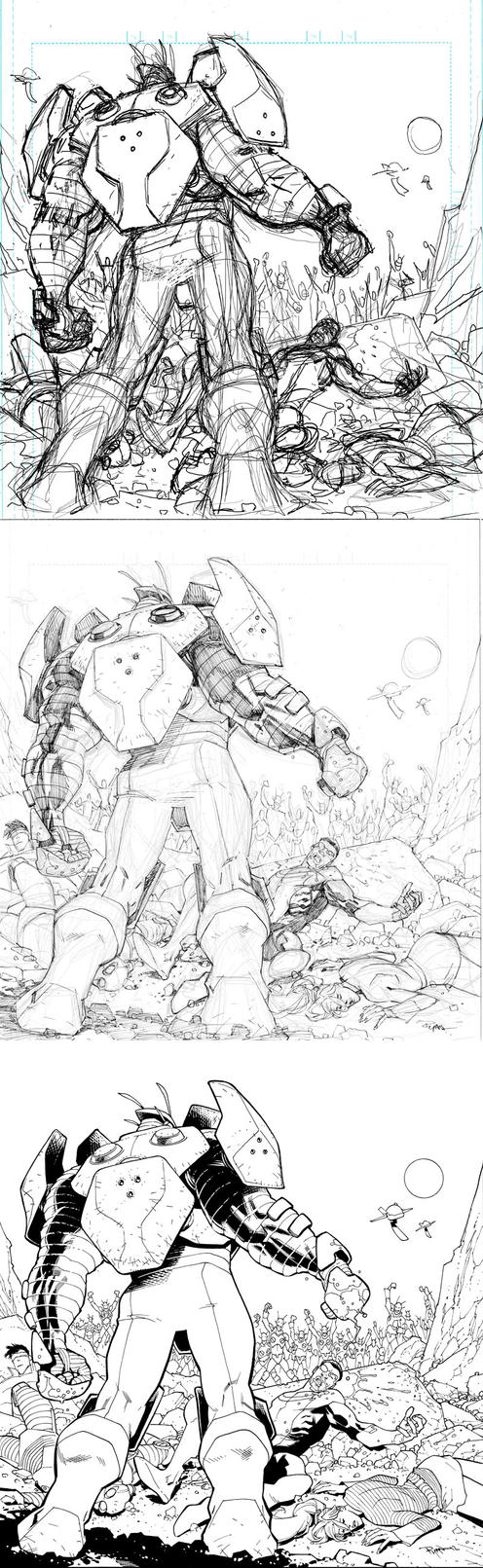 Invincible 94 cover by RyanOttley