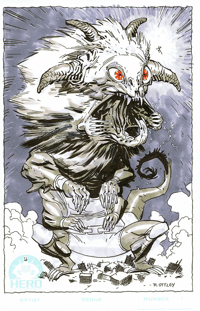Own this monster now by RyanOttley