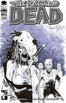 The Walking Dead 100 sketch cover