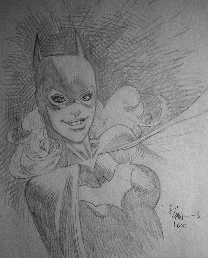 Batgirl ECCC13 by RyanOttley