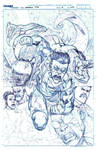 INVINCIBLE TPB 18 cover pencils
