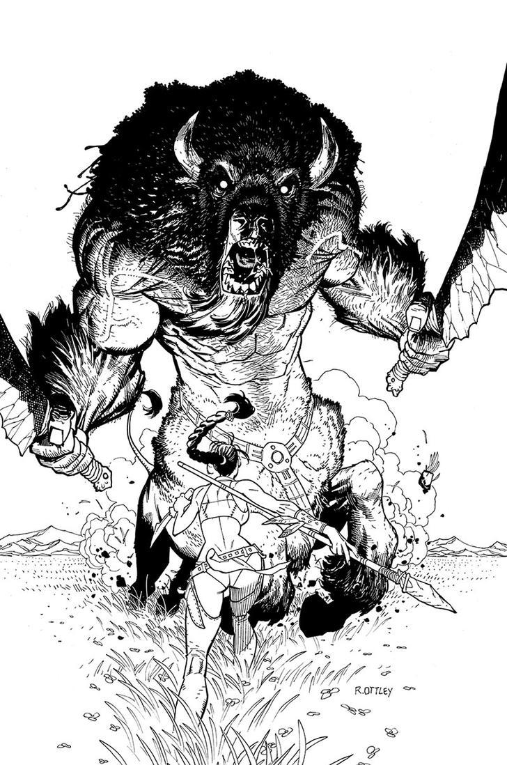 buffalotaur by RyanOttley