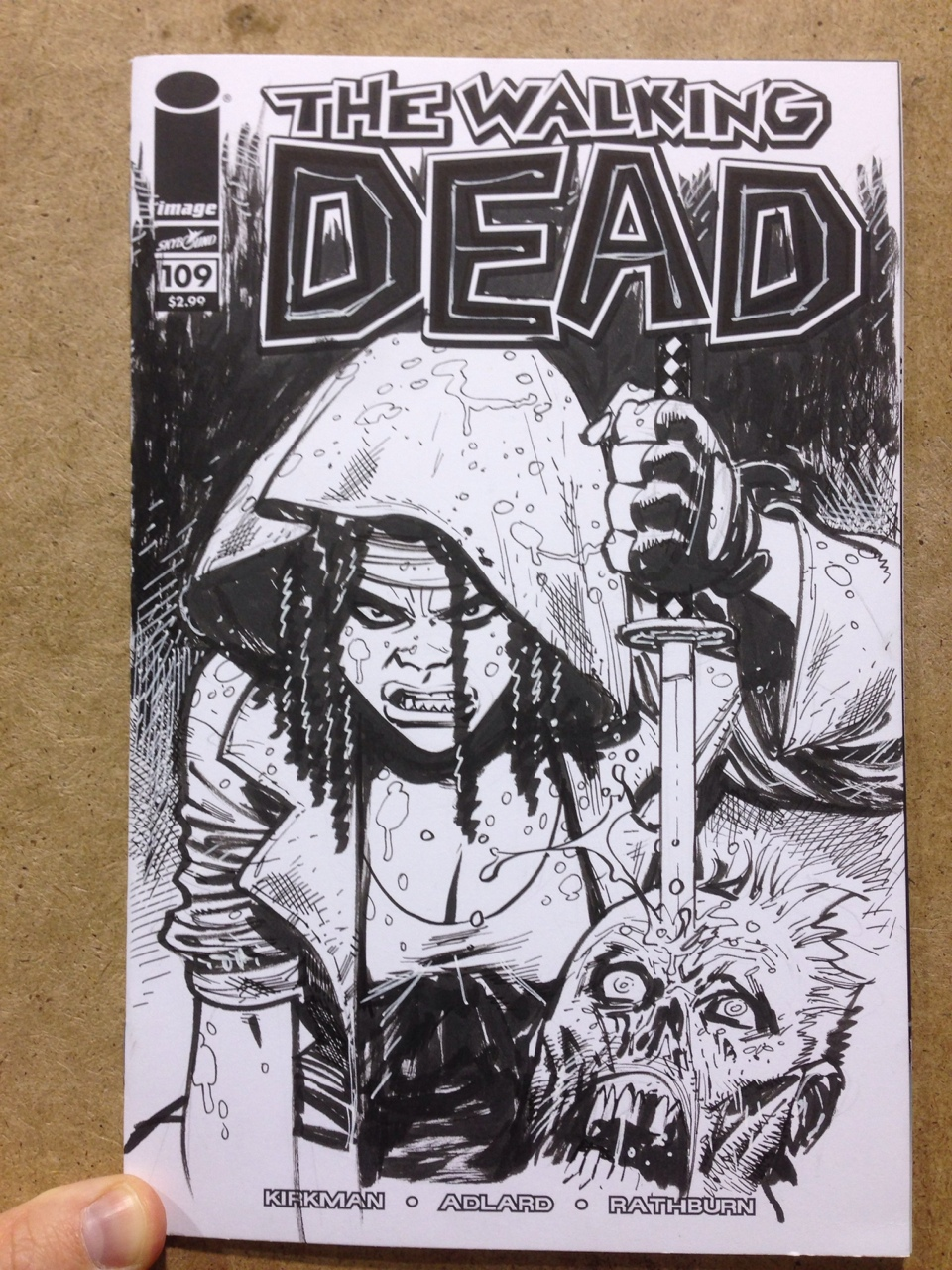 The Walking Dead Michonne by RyanOttley