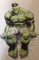 Hulk done fighting by RyanOttley