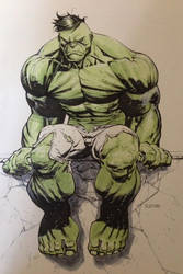 Hulk done fighting