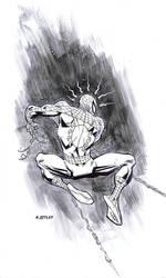Spider-man's back by RyanOttley