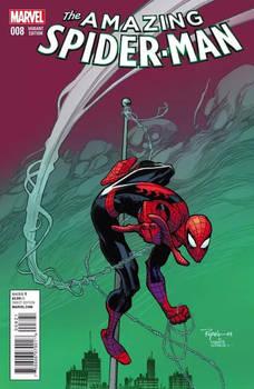 Amazing Spider-man 8 variant cover