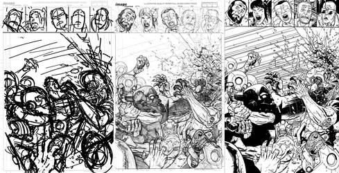 INVINCIBLE 112 cover process
