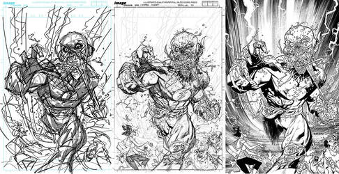 FLASH cover process