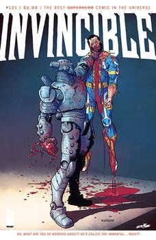 INVINCIBLE 121 cover