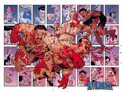 Invincible Viltrumite fight by RyanOttley