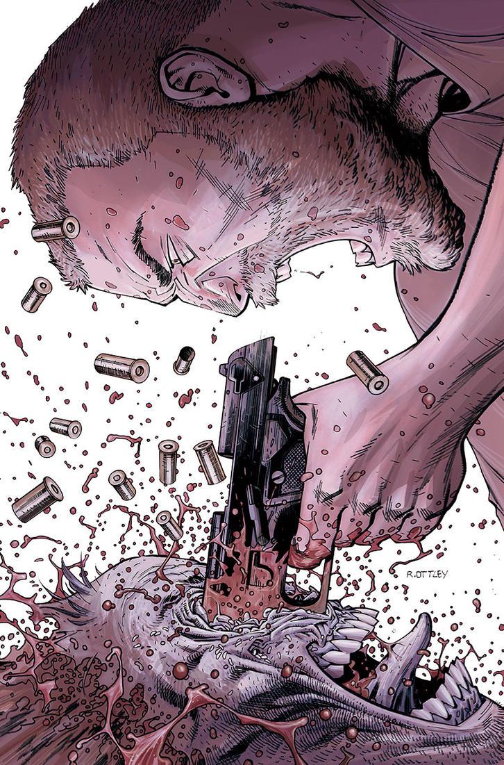 The Walking Dead 150 cover by RyanOttley