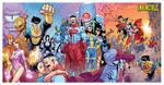 INVINCIBLE triptych colored