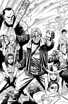 The Walking Dead variant cover 164