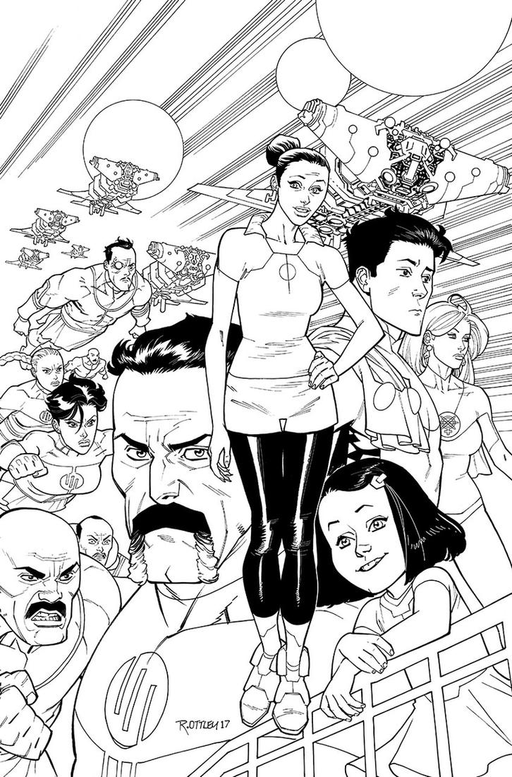 INVINCIBLE137 cover by RyanOttley