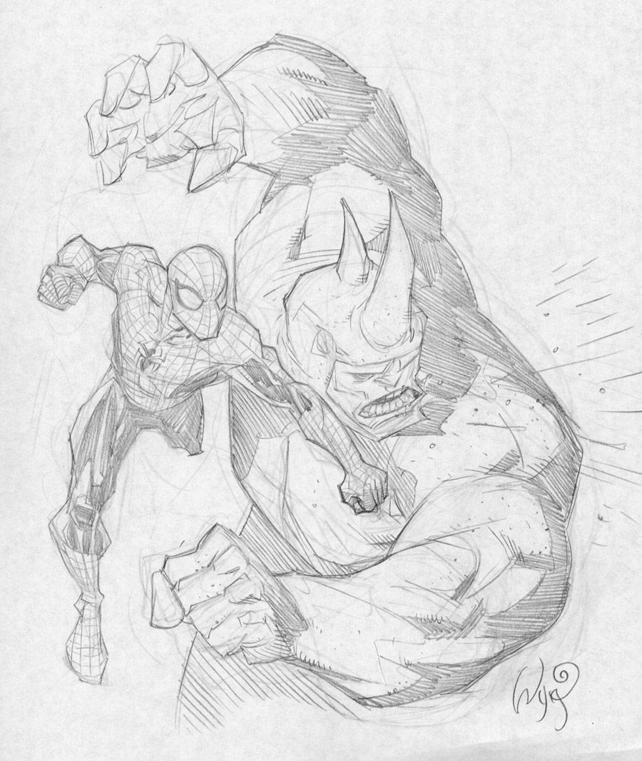 Rhino From Marvel Drawings Pictures to Pin on Pinterest ...