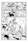 Zombie page in Invincible 33