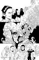 Invincible 8 TPB cover by RyanOttley