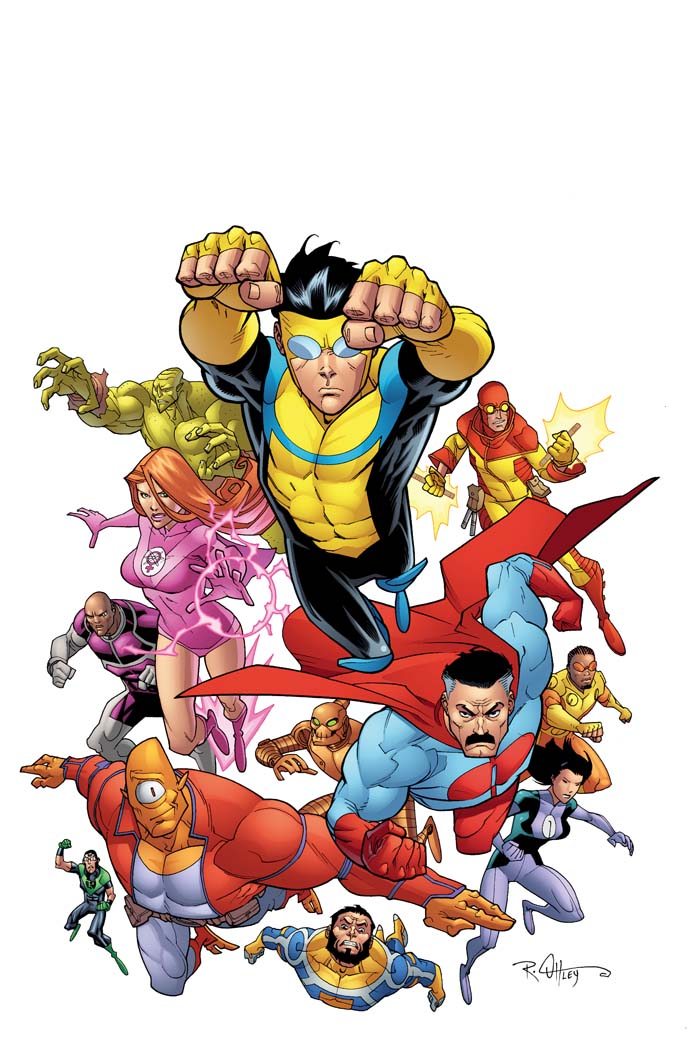 Image result for image invincible covers