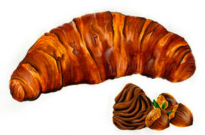 Croissant by giannisk
