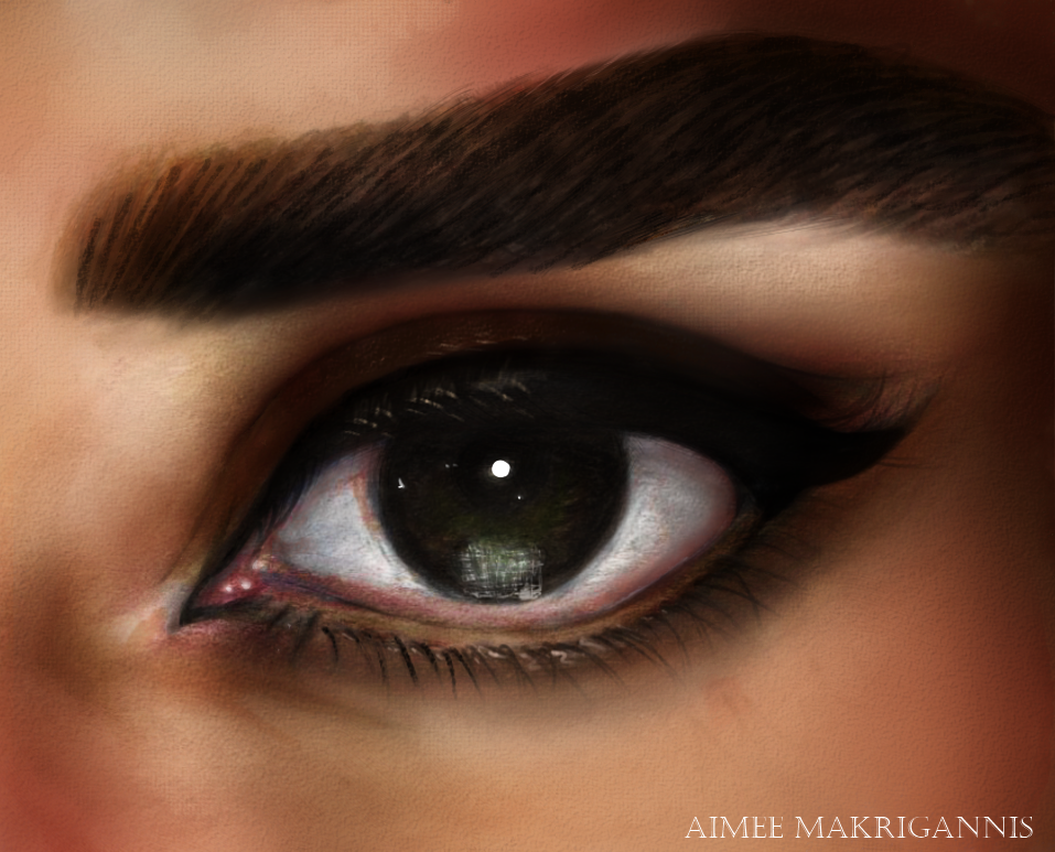 In the Eyes of Audrey Hepurn by AwesomeCanadians123