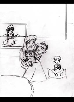 Babysitting Katy pg.4