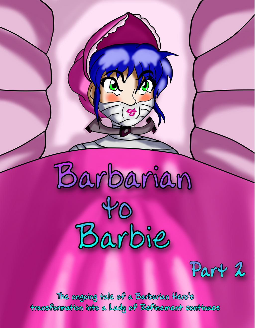 Book Cover: Barbarian to Barbie part two by Hipper-Reed