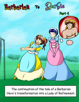 Book Cover: Barbarian to Barbie part four by Hipper-Reed