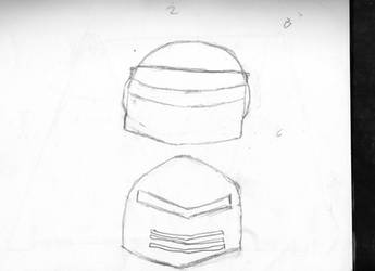 Rough Helmet Design 2 B C by Commander-Fillmore