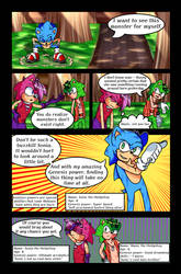 Sonic and the Door to Chaos Issue 1 Part 5