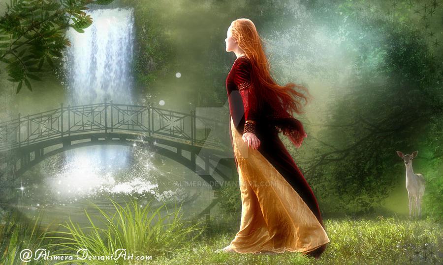 Waterfall by Alimera