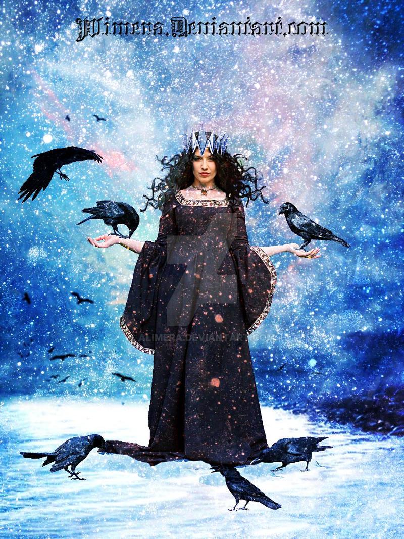 Winter Crow Queen