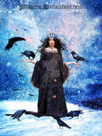 Winter Crow Queen by Alimera