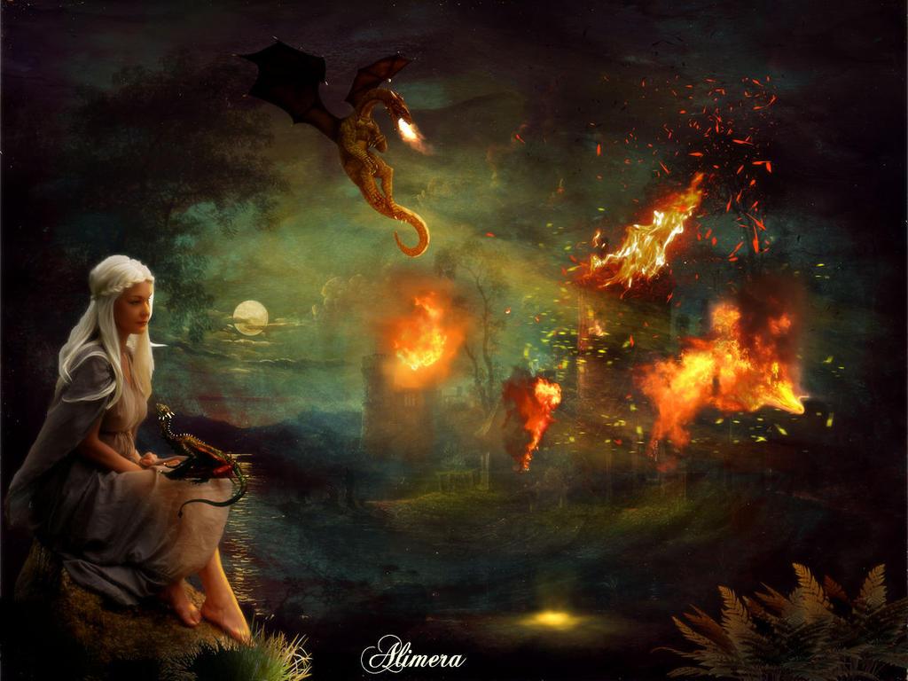 Dragon fire by Alimera
