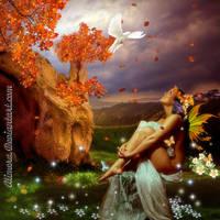 Autumn Faery by Alimera